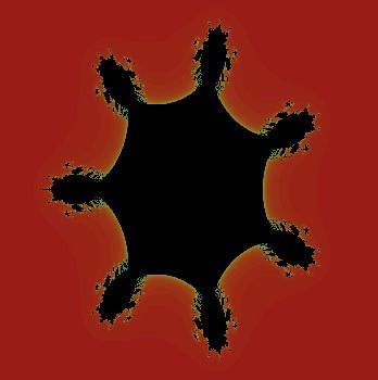 Zbiór Hexa Mandelbar